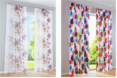 catalogo tende bonprix di primavera con le tende colorate di bonprix