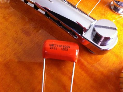 capacitor values for humbuckers stratocaster upgrade wiring kit bourns 250k pots sprague orange drop tone capacitor