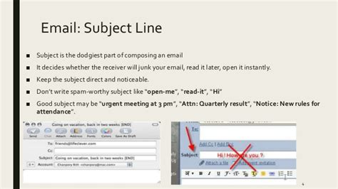 email line email etiquette