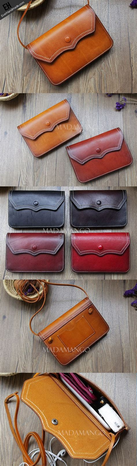 Handmade Leather Purse Patterns - 17 best ideas about leather bag pattern on