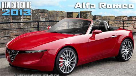 Alfa Romeo Sports Car by Alfa Romeo Cars 2013 New Alfa Romeo Models 2013 New