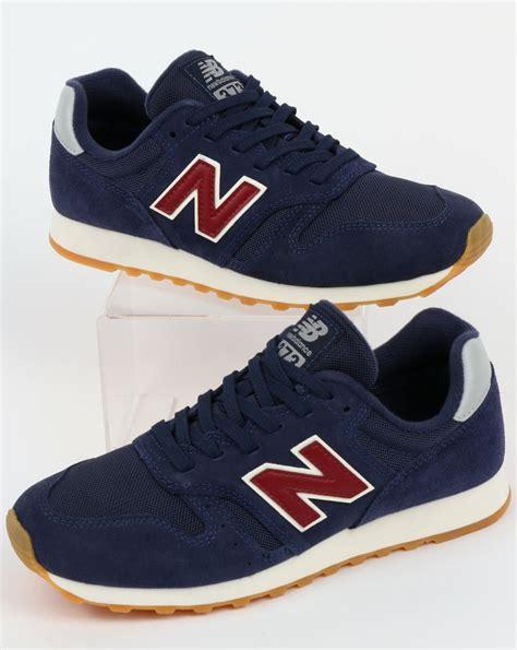 New Balance 373 Navy Putih new balance 373 trainers navy shoes running 70s