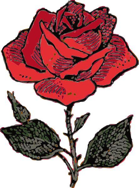 rosa clipart clip at clker vector clip
