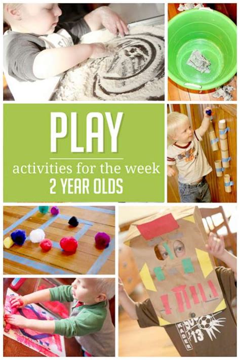7 Easy Activities To Do - play sle weekly activity plan for 2 year olds