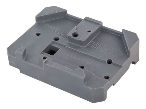 ar15 front sight bench block wheeler engineering delta series ar 15 armorer s bench block