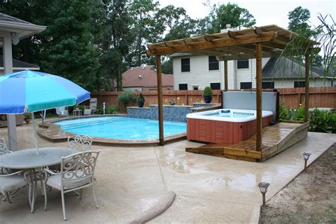 Backyard Pool And Spa Backyard Living Pools And Spas Outdoor Furniture Design And Ideas