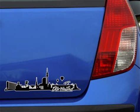 Autoaufkleber In Essen Kaufen by Dortmund Skyline Aufkleber Sticker Autoaufkleber City 4 Gr 246 223 En