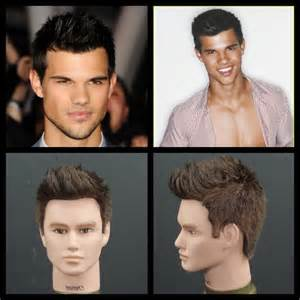 how to style the haircut taylor lautner haircut hairstyle tutorial thesalonguy