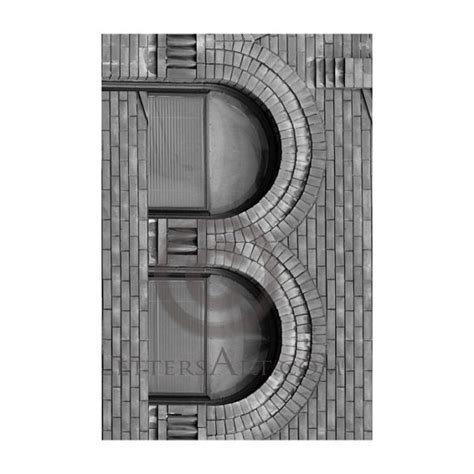 printable architectural letters only 1 99 instant letter art 4x6 individual photo by