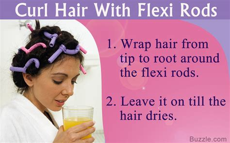 you need to the right way to curl hair with flexi rods