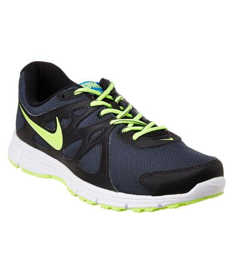 nike revolution 2 msl black running shoes buy nike