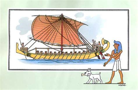 dessin bateau egyptien marin1 06 navire de commerce 233 gyptien
