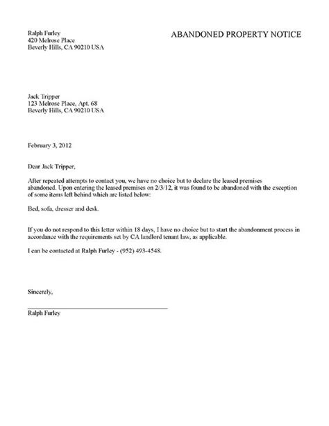 rental 30 day notice template printable sle tenant 30 day notice to vacate form
