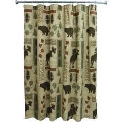 bacova shower curtains bacova guild big country shower curtain cream walmart com