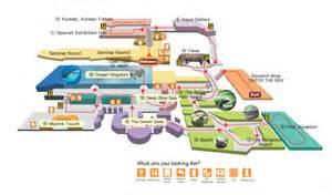 Camden Floor Plan coex aquarium guide map seoul exploring korea