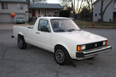1981 volkswagen rabbit truck 1981 vw rabbit diesel up truck for sale volkshole