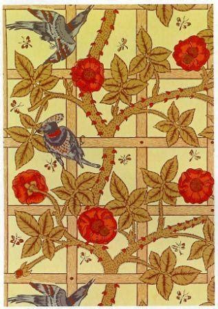 Principles Nouveau Collection by William Morris Early Pattern William Morris