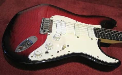 Schecter 6 Crb Original fender stratocaster plus ultra 1991 crimson burst reverb