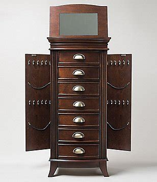 dillards jewelry armoire jewelry boxes and armoires plus watch winders in an array
