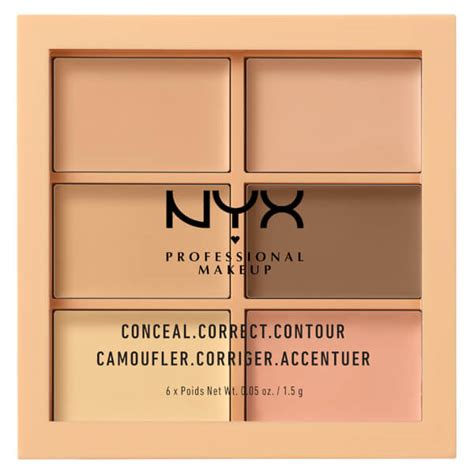Nyx Conceal Correct Contour Palette nyx professional makeup 3c palette conceal correct