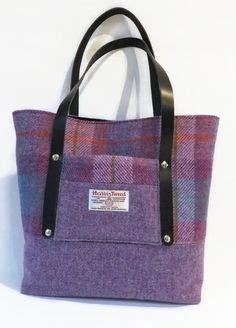 Big Grey Tweed Bag From Promod by Large Grey Check Harris Tweed Tote Bag Linen Canvas
