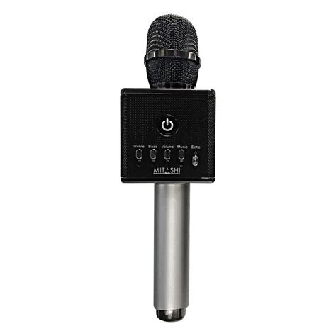 Mic Karaoke Bluetooth Speaker mitashi wireless karaoke mic with inbuilt speakers and bluetooth mk1015