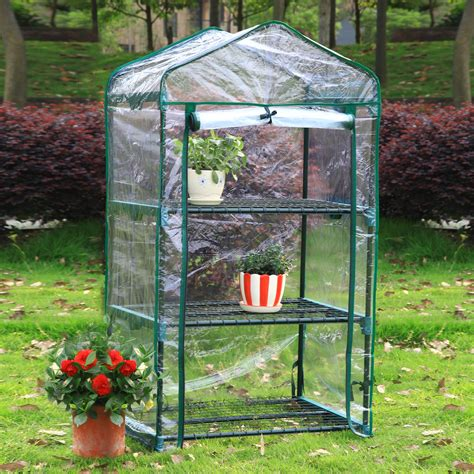 Garden Of Products by Arcadia Garden Products Gh03 3 Tier Mini Greenhouse Atg