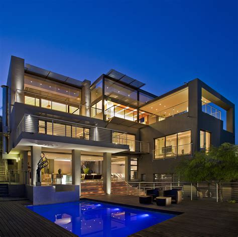 Homes With Detached Guest House For Sale by Mansion House Modern Modern House