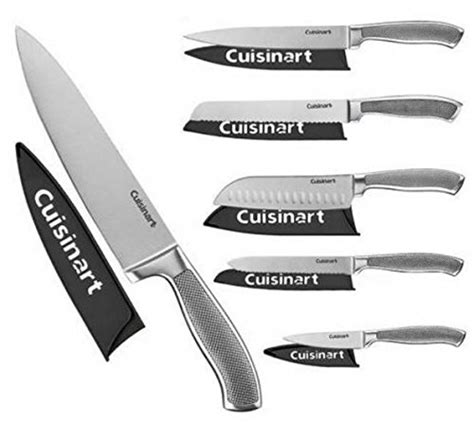 cuisinart classic 6pc german stainless steel knives with