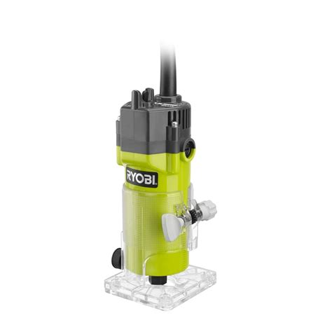 Router Trimmer Ryobi 400w Trim Router Bunnings Warehouse
