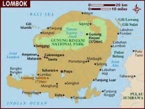 Car Rental Lombok Indonesia Map Of Lombok