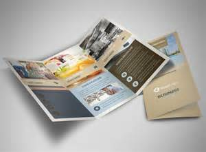 3 folded brochure template hotels tri fold brochure template