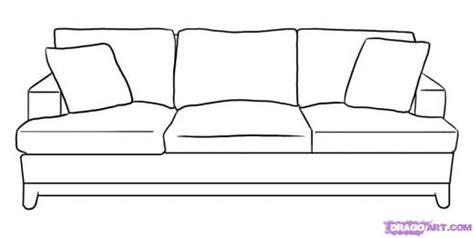 sofa drawing drawn sofa pencil and in color drawn sofa