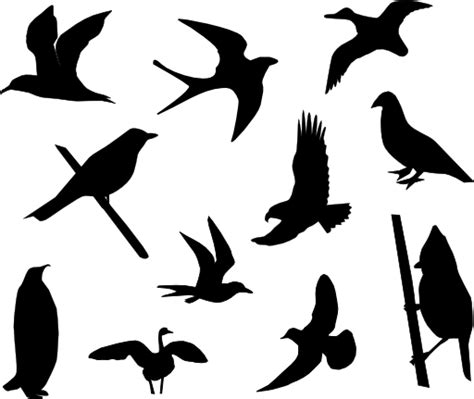 birds silhouette clipart i2clipart royalty free public