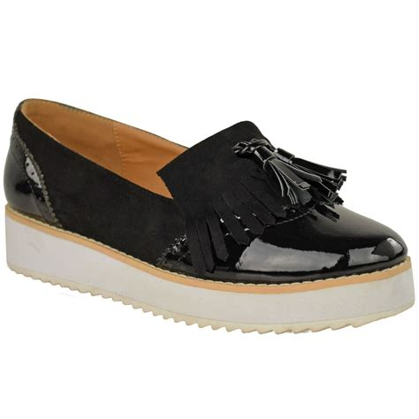 chunky loafers womens loafers flat shoes chunky cleated sole