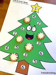 christmas tree learning activities for toddlers prek