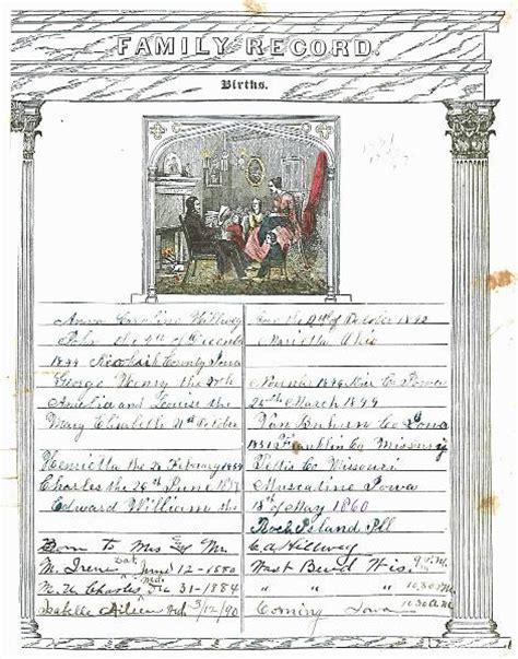 German Birth Records 1860 Documents Martha Danker Hellweg