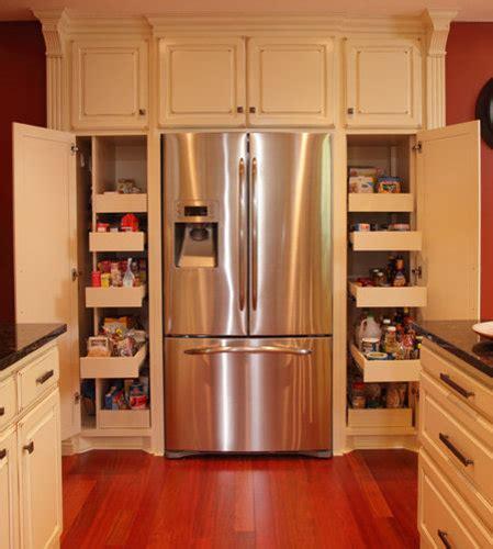 pantry  refrigerator houzz