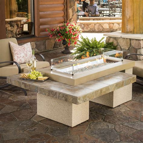Patio Firepit Table Top 15 Types Of Propane Patio Pits With Table Buying Guide