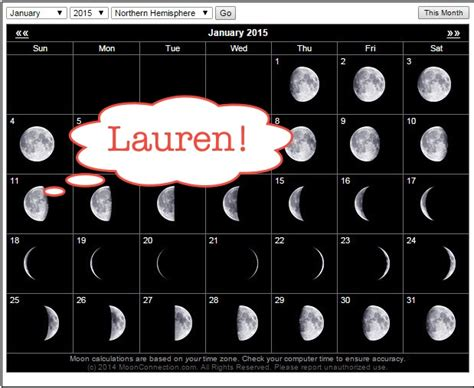moon phases 2015 calendar moon phase calendar february 2015 images