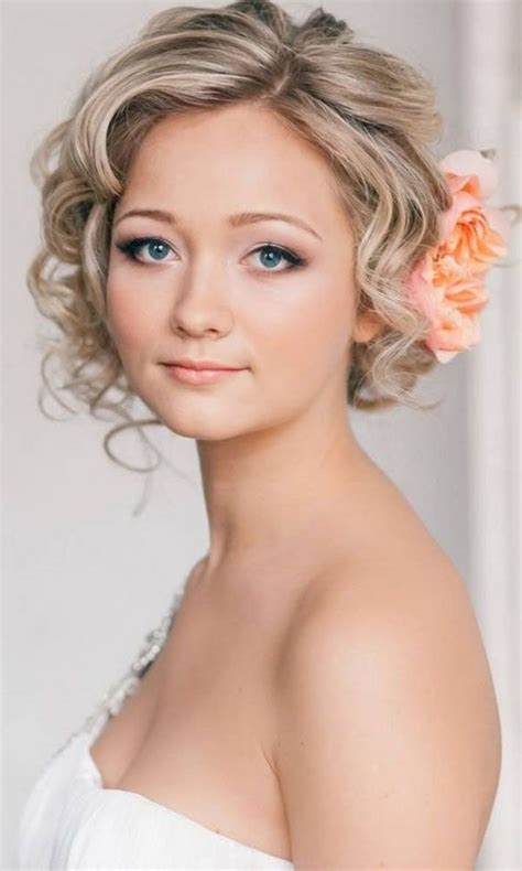 17 Best ideas about Short Wedding Hairstyles on Pinterest