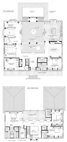 floor plan with courtyard in middle of the house 1000 ideas about u shaped houses on pinterest u shaped