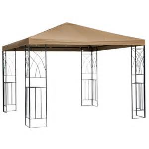 How To Make A Gazebo Canopy by Tivoli Replacement Gazebo Canopy Beige Room Target
