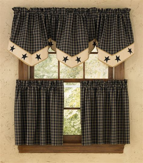 country style curtains for kitchens country style