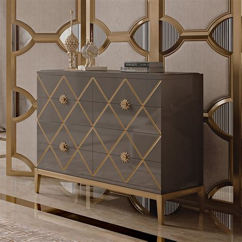 italian uk italian designer lacquered art deco inspired chest of