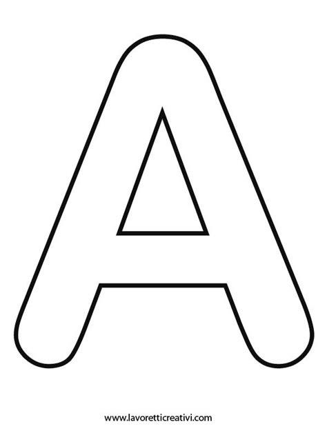 lettere dell alfabeto da ritagliare pi 249 di 25 fantastiche idee su lettere dell alfabeto su