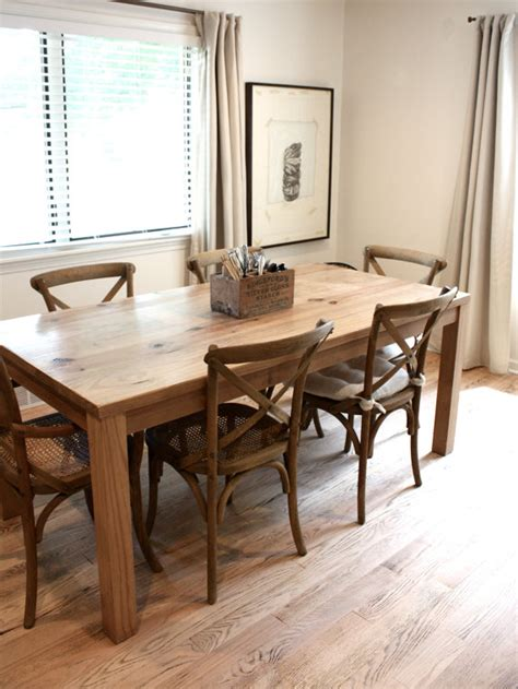 parsons kitchen table dining table reclaimed wood parsons kitchen table 27