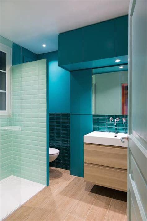 Merveilleux Salle De Bain Leroymerlin #4: 9c8d2170788d773f4d359f33ed554fa4--blue-tiles-bleu-turquoise.jpg