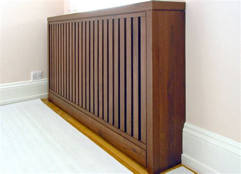 for a more contemporary look radiator covers