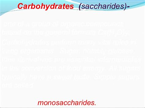 carbohydrates for 7 month 7 carbohydrates
